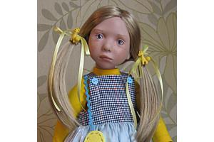Фотографии куклы Энн-Катя от Цвергназе