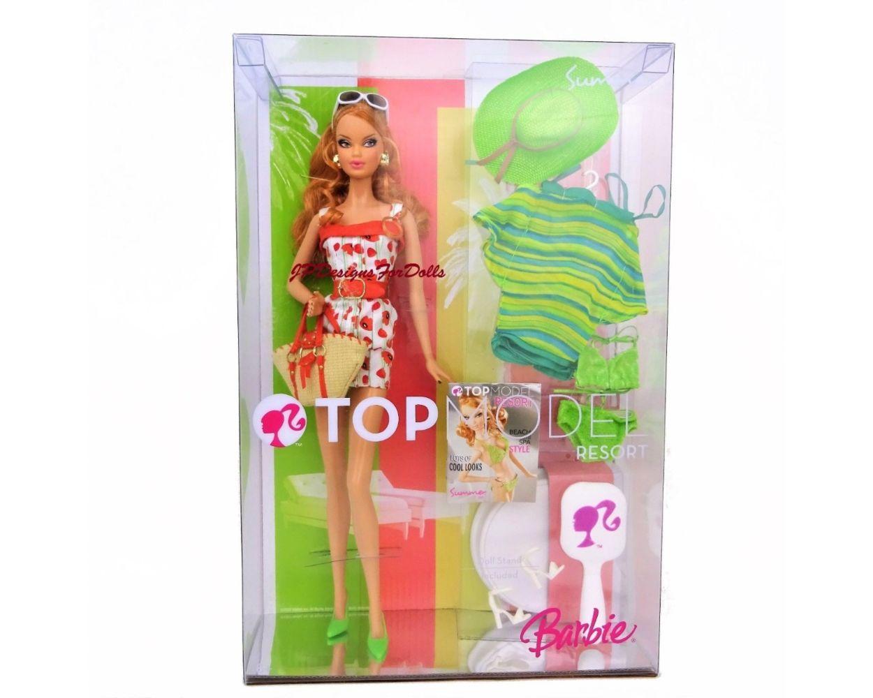 кукла Barbie Top Model Resort Summer барби топ модель лето русая
