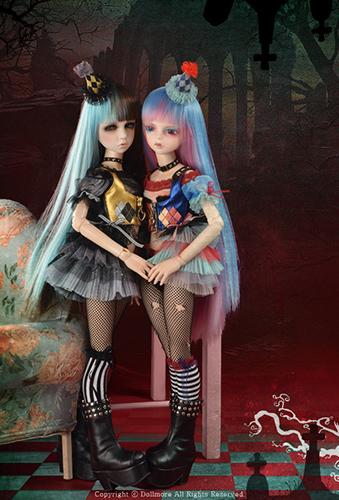Куклы с разноцветными волосами