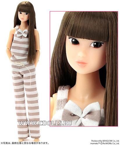 Кукла Момоко - олицетворение японских традиций, восточной сдержанности и красоты