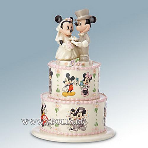 Фигурка на свадебный торт – оберег и память