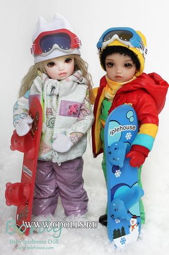 Кукольная команда к Зимним Олимпийским играм готова!