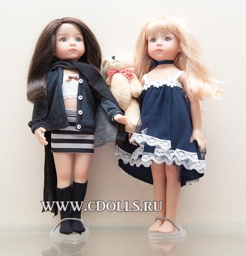 Куклы-девочки Джери Урибе (Geri Uribe) приедут в ноябре