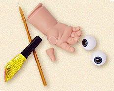 Основные правила по уходу и ремонту кукол из фарфора, полиуретана, винила