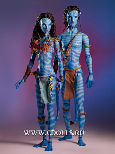 Коллекция кукол «Аватар» от Роберта Тоннера