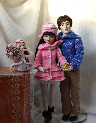 Фотографии кукол Элловайн Вайлд и Мортимера Морта от Тоннер / Tonner