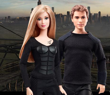 Новинки: куклы Барби – герои фильма «Дивергент»