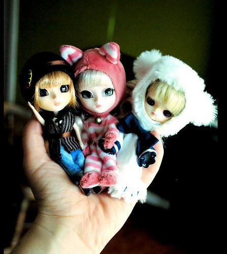Крошечное семейство Пуллип: миниатюрные версии кукол и линейка Доколла