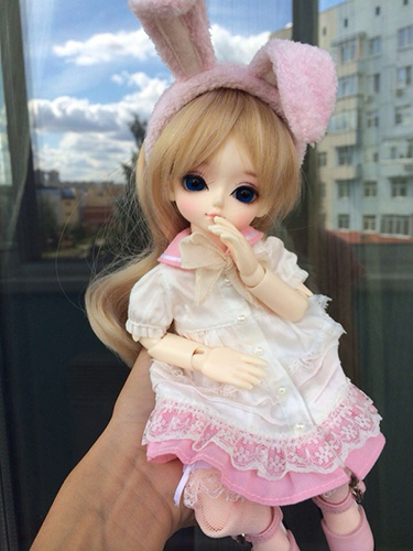 Фотографии куклы бжд Чоух Сладкий праздник в розовом от Латс / Eluts