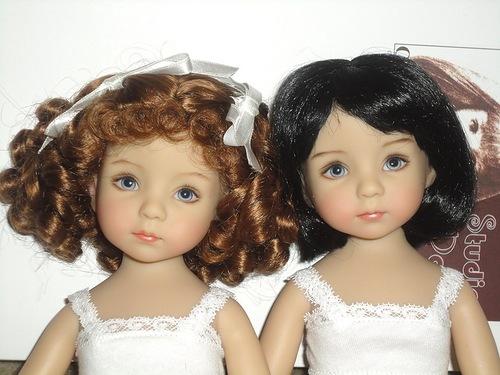 Фотографии кукол Рени и Клэр от Дианны Эффнер и Джери Урибе