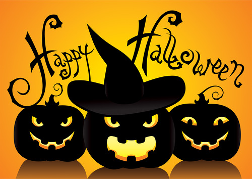 Пятница 31-е - это Хэллоуин!