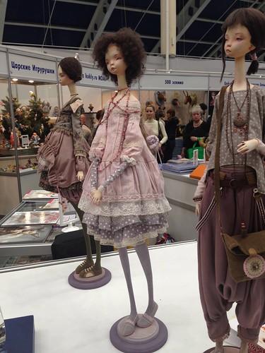 Крупнейшие российские и международные выставки игрушек и кукол в 2015 году