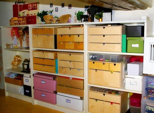 Организация коллекции. Хранение