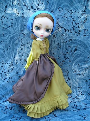 Загадочная девушка Пуллип с жемчужной серёжкой