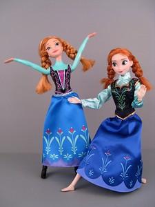 Куклы Анна Холодное сердце: фотообзор-сравнение