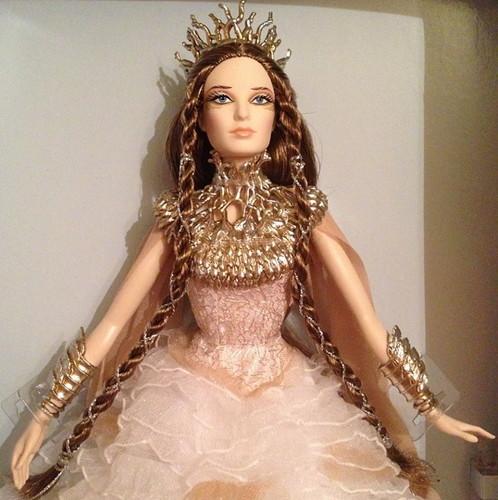 Фотографии куклы Барби Леди Белого леса