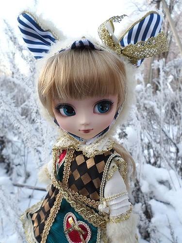 Фотографии куклы Пуллип Классический Белый Кролик / Pullip