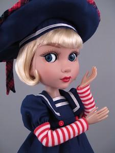 Кукла Патиенс на палубе. Фотообзор