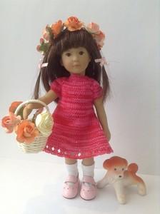 Фотографии куклы Ленхен серии Мини от Харт энд Соул