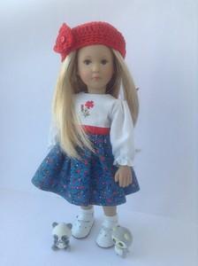 Фотографии куклы Лоттхен серии Мини от Харт энд Соул