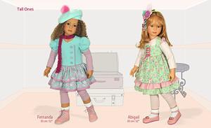 Новая коллекция кукол от Хайди Плюсцок 2016