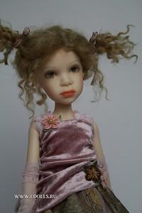 Кукла бжд розовая Шерри от Заверушински. Видеообзор