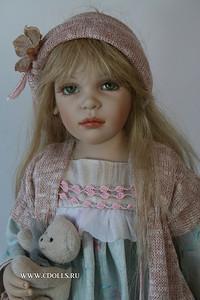 Кукла Люсия от Заверушински. Видеообзор