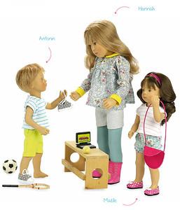Новые куклы Сильвии Наттерер (Петитколллин)
