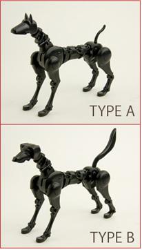 Шарнирные собаки Obitsu