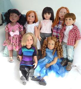 Сравнение кукол-деток разных производителей. Много фото