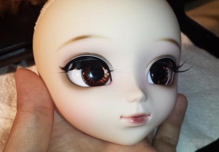 Как поменять глаза кукле Пуллип. Чипы