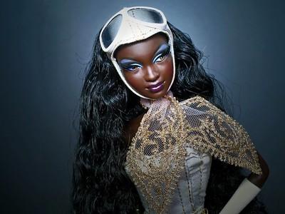 10 кукол с тёмным цветом кожи