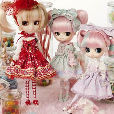 Куклы Пуллип в стиле «лолита»