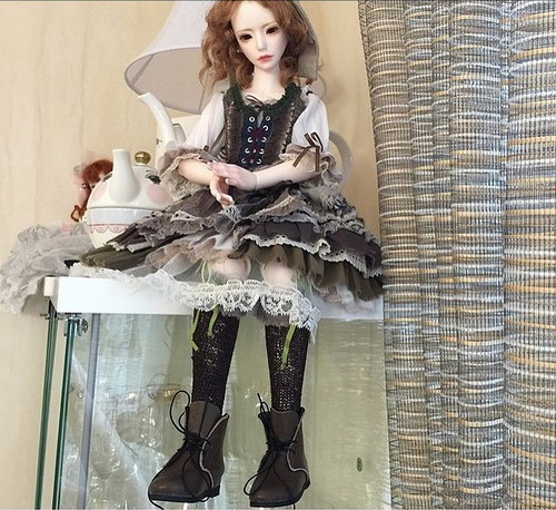 Фотографии куклы бжд Заолл Лав Жемчужная Серьга от Доллмор / Dollmore