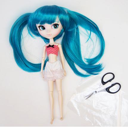Как привести причёску куклы Пуллип в порядок