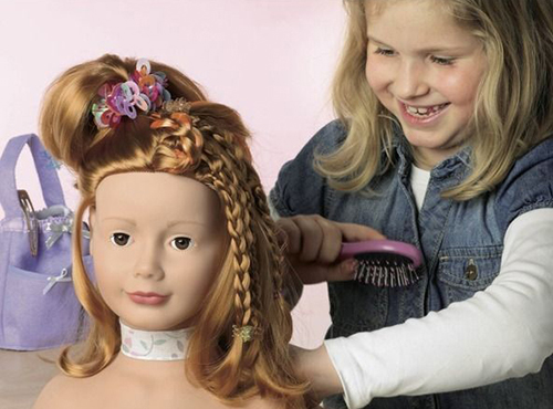 Причёски для кукол-девочек