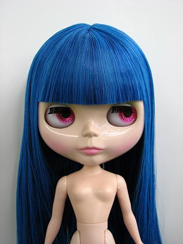 Как сделать причёску кукле после перепрошивки волос