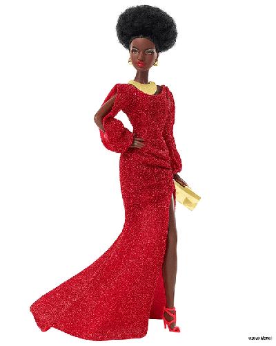 Новая кукла Барби в честь 40-летия первой темнокожей куклы
