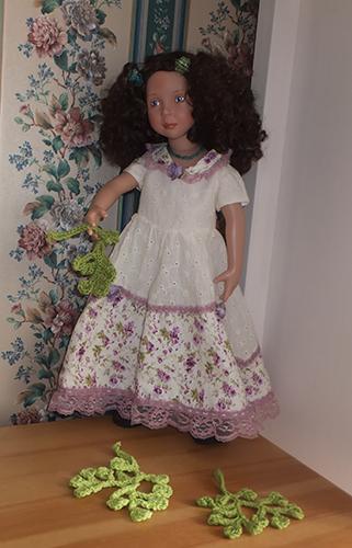 Фотографии куклы Виолетт от Zwergnase