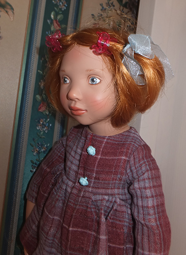 Фотографии куклы Каролина от Zwergnase