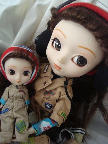 7 кукол мини-Пуллип