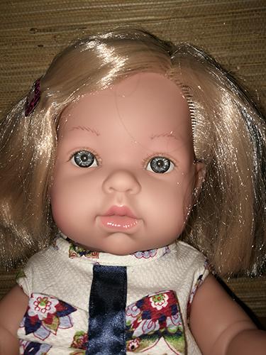 Фотографии куклы Тонино в платье с цветочным принтом / Vestida de Azul