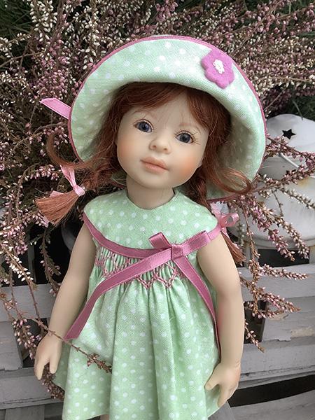 Фотографии кукол Мэнди, Сорайя и Каталинка от Хайди Плюсцок