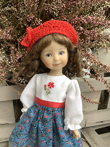 Фотографии куклы Красная Шапочка от Heartstring Dolls