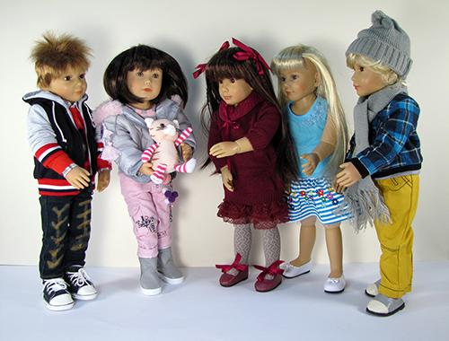 Игровые куклы Kidz n Cats. Наглядно