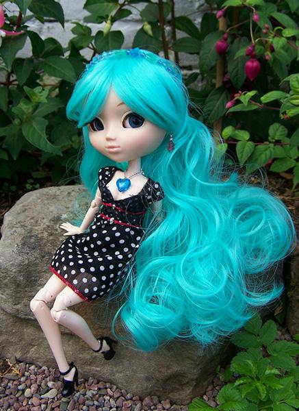 Куклы с необычными волосами