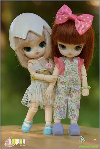 5 кукол мини-Дал
