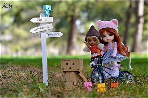 Куклы путешествуют