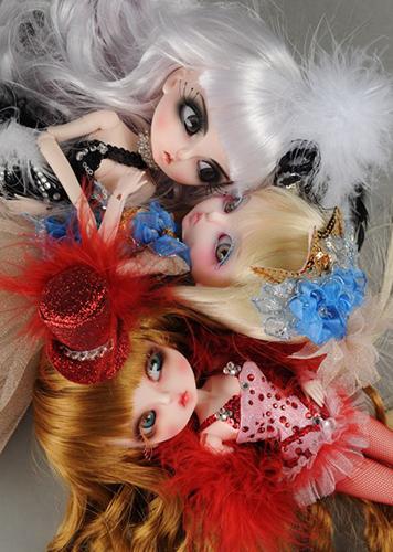 8 кукол бжд Лукиа от Dollmore
