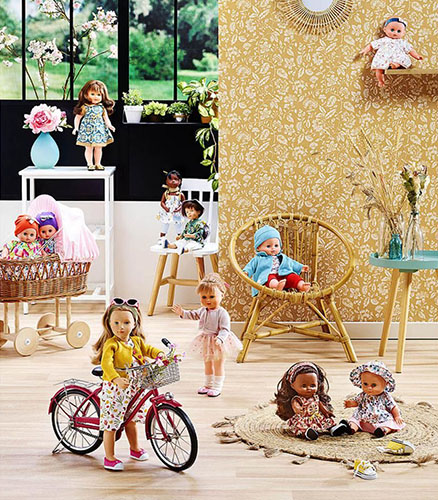 Новинки кукол от Сильвии Наттерер (Petitcollin)